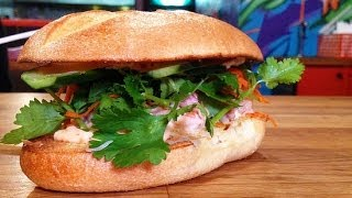 Coconut Shrimp Sandwich Recipe From Num Pang | Between the Bread