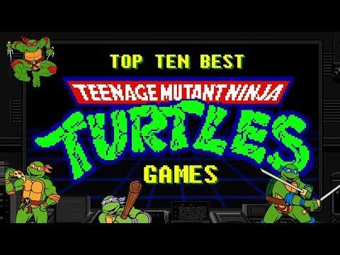 Top 10 Best Teenage Mutant Ninja Turtles Games