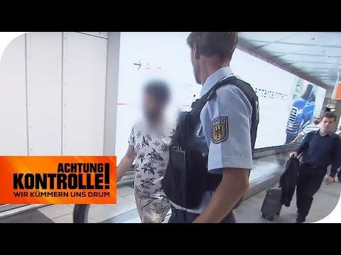 Haftbefehl direkt nach der Landung: Warum wird er verhaftet? | Achtung Kontrolle | kabel eins