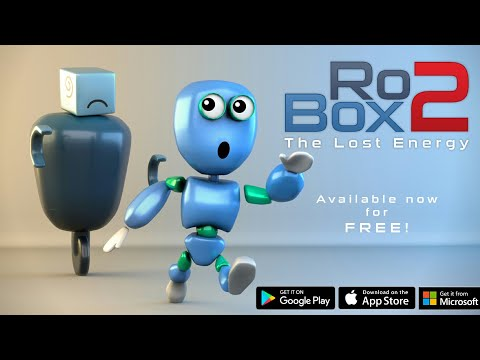 Robo X - The Lost Energy (Android/IOS) Gameplay