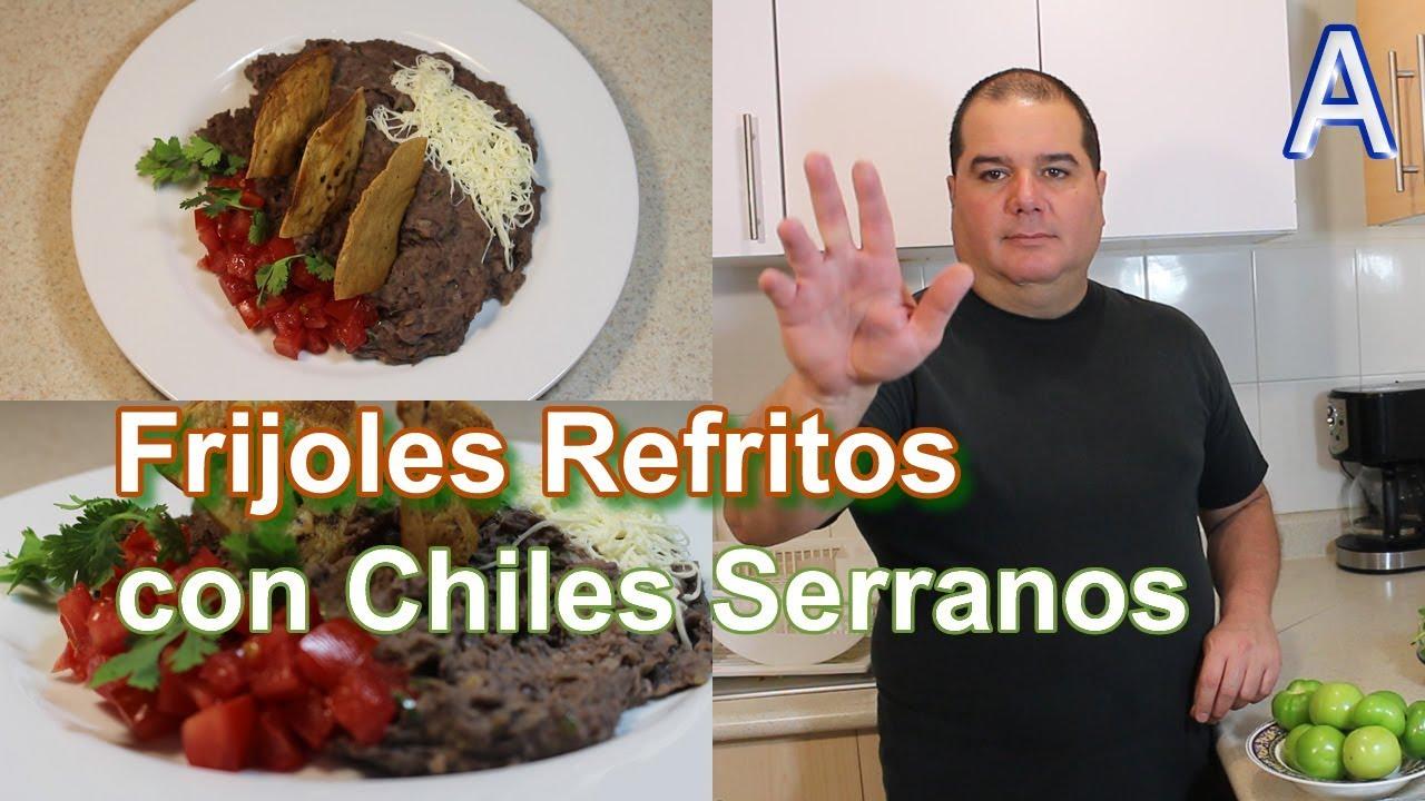 Los mejores frijoles refritos con chile cocina mexicana for Comidas mexicanas rapidas y economicas