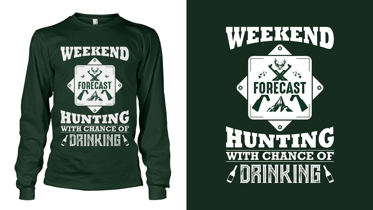 How To Design A Hunting T Shirt In Adobe Illustrator