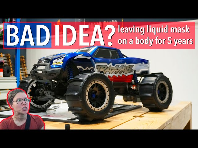 MASKED FOR YEARS - Ruined or usable? Traxxas X-Maxx PAINT