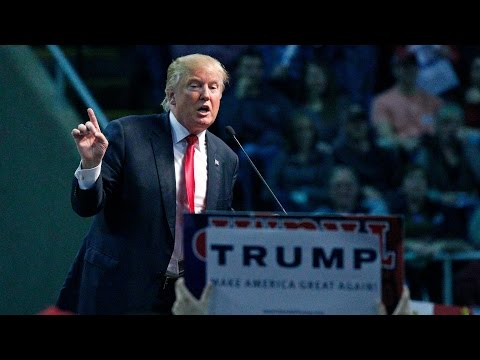 Donald Trump holds rally in Claremont, N.H.