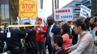 Media praises Trump on immigration meeting