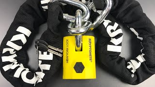 [686] Kryptonite's Best: The New York Legend Chain/Padlock Combo Picked (Model 1515)