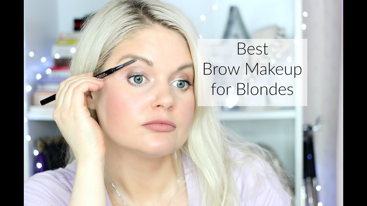 The Best Eye Brow Products For Blondes Brow Gels Pomades