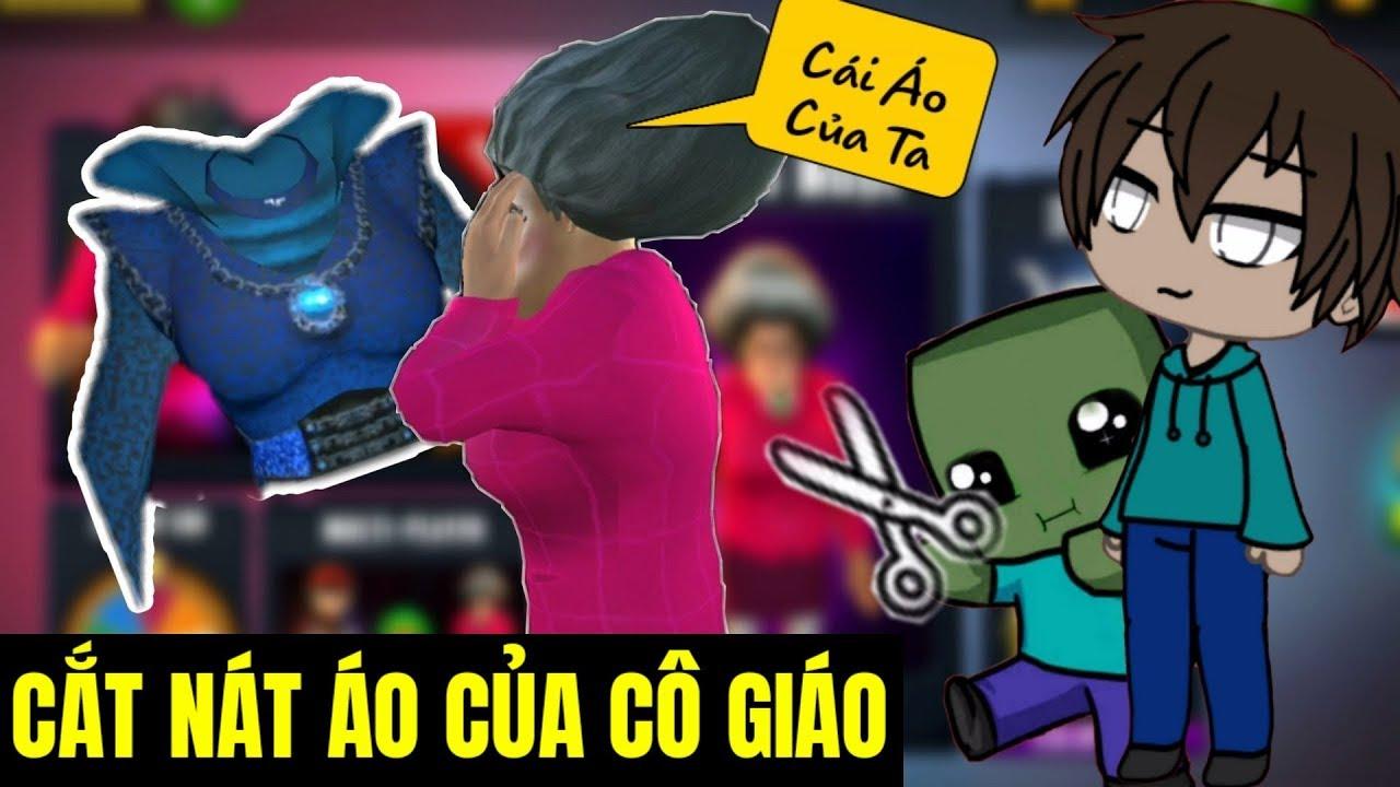 """[ Lồng Tiếng Game ] Thầy Và Zombie Cắt Nát Đồ Của Cô Giáo """"Thảo""""  (Tập 2)   MV CHANNEL"""
