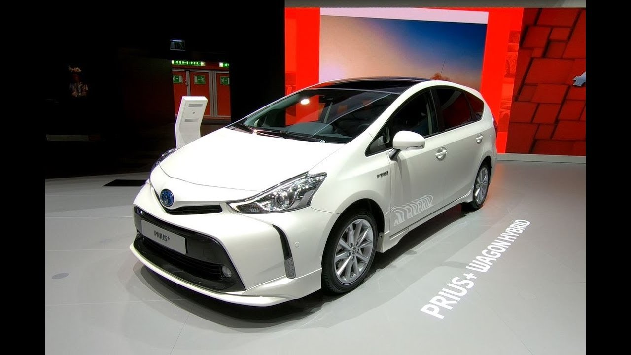 Toyota Prius Plus Wagon Hybrid 7 Seater Pearl White Walkaround Interior