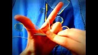Урок №1 Вязание спицами