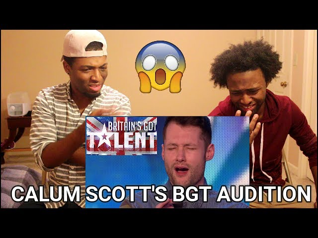 Golden Boy Calum Scott Hits The Right Note Reaction Britain S Got Talent 2015 Youtube