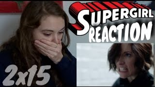 Supergirl reaction [2x15]
