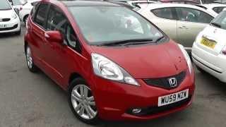 Used Car | Honda Jazz EX | Red | WU59MZW | Wessex Garages | Feeder Road | Bristol