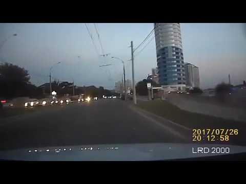 ДТП на ул. Кубанская набережная в Краснодаре 26.07.2017