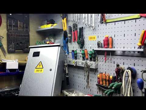 Сборка щита учета на 15кВт согласно техническим условиям.