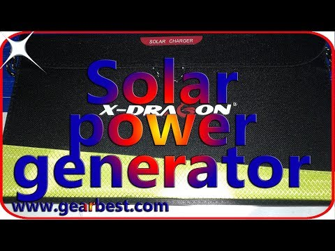 Best solar power generator for camping Portable solar panel