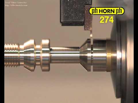 Utensili per torni automatici Horn - soluzioni per tornio a fantina mobile