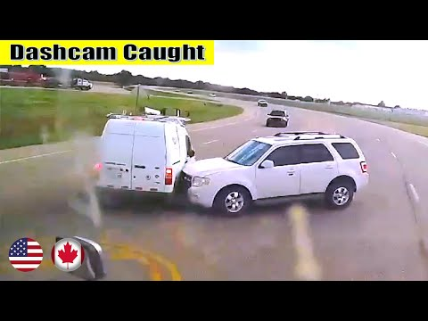 Ultimate North American Cars Driving Fails Compilation - 101 [Dash Cam Caught Video]