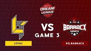 Lotac VS WG.Unity | Bo3 l Lower Bracket Round 2 DreamLeague Season 11 SEA Qualifiers | Game 3