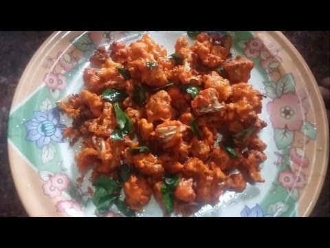 Cauliflower Pakoda Recipe in Tamil
