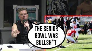 Gambar cover Pat McAfee On His Senior Bowl