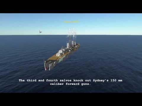 The Battle between the HMAS Sydney and Kormoran