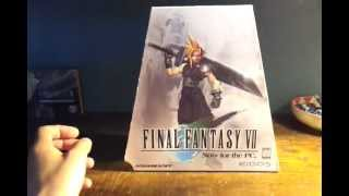 Final Fantasy VII USA pc Unboxing