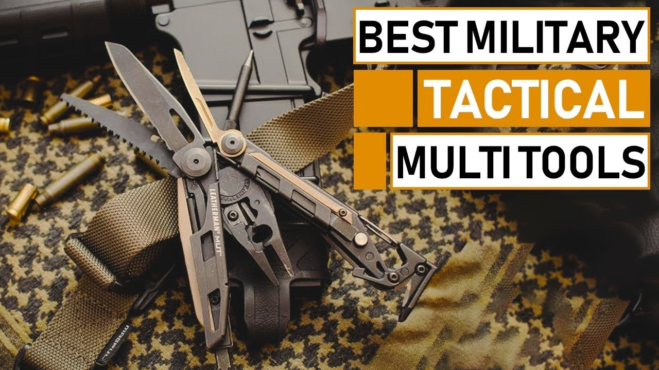 Best Full Size Military Tactical Multi Tools