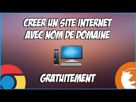 [TUTO] Créer un site internet avec nom de domaine GRATUITEMENT !