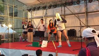 くまだまさし & GOOFY先生 音彩 2018.8.3 @取手八坂祭.