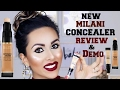 NEW Milani Concealer - REVIEW & DEMO