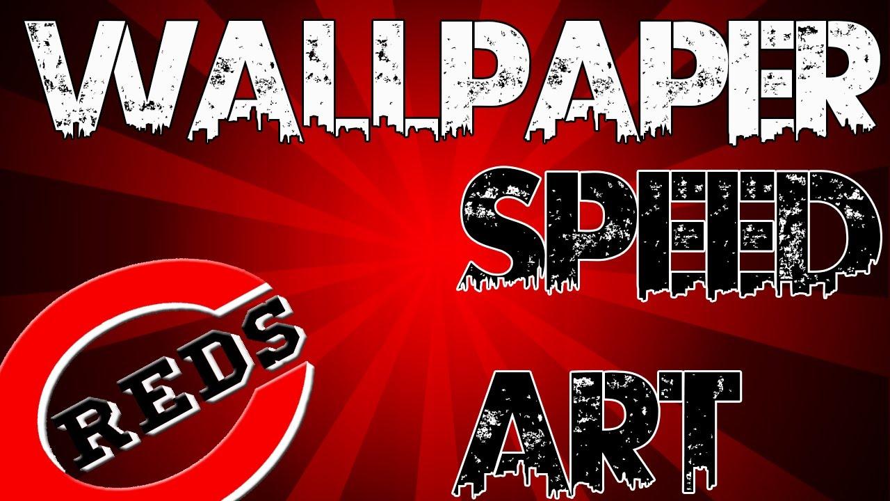Cincinnati Reds Wallpaper Speed Art