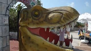 Papillon Belvil Hotel 5*// The Dinosaur Show/ Шоу Динозавров/ Zeigt Dinosaurier