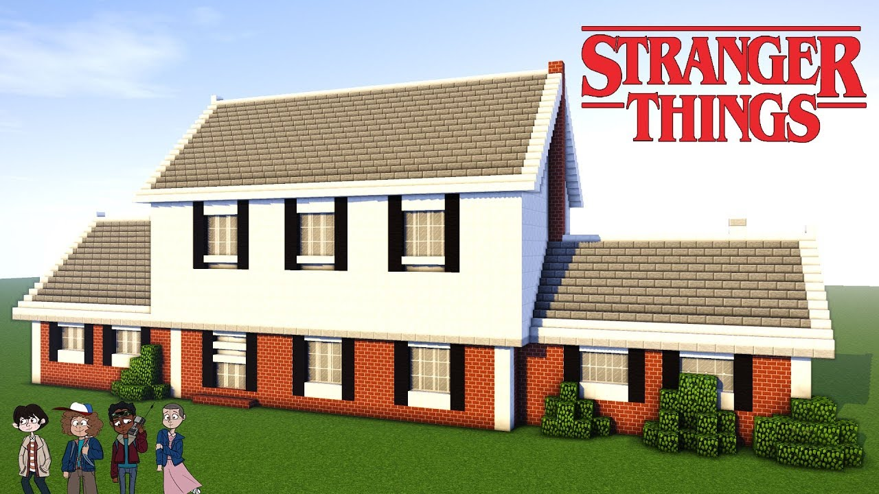 Minecraft tutorial how to make stranger things house - Things to consider when building a house ...