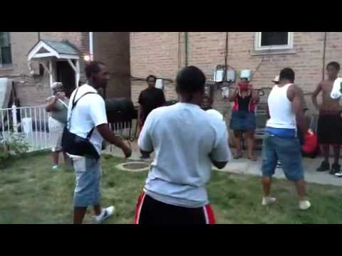 Hood Boxing Rematch Mike Mike VS Ant