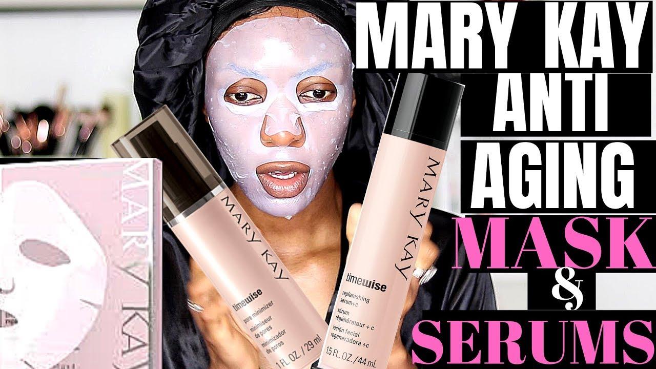 Mary Kay Anti Aging Daytime Skincare Routine Youtube