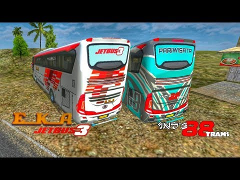 Livery Bussid Eka Jb3 Ind S 88 Trans Green Viper By Blahbloh
