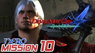 Devil May Cry 4 Special Edition Walkthrough - NERO Mission 10【60FPS】PS4