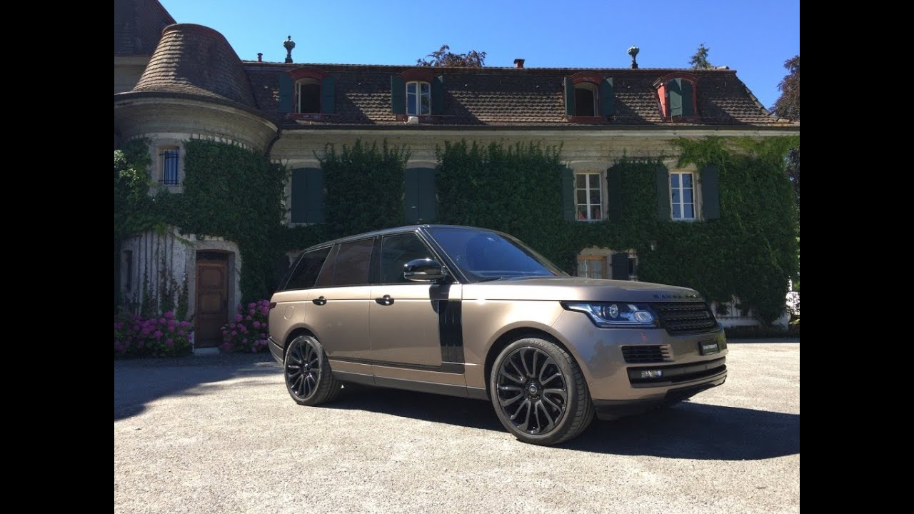 RANGE ROVER VOGUE 2016 4.4 l. SDV8 TD SUV Test & Review in ...