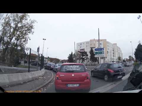 Driving In Paris & Suburbs - A day at work