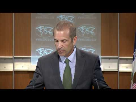 Daily Press Briefing - August 22, 2016