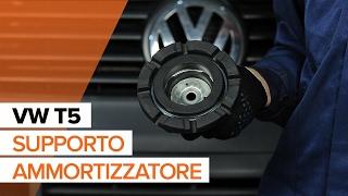 Guarda la nostra guida video sulla risoluzione dei problemi Supporti ammortizzatori VW