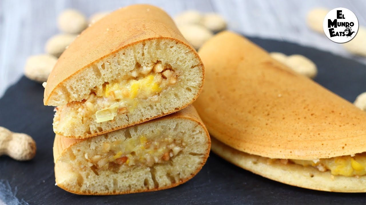 Asian Peanut Pancake Turnover Apam Balik El Mundo Eats Recipe Malaysian Food Desserts Asian Desserts Crepes And Waffles