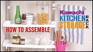 How To Assemble Kawachi Multifunction Home Stainless Steel Kitchen Shelving Storage Rack Dish Rack
