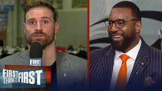 Chris Long gives advice to Rams' defense vs Tom Brady, talks Carson Wentz   NFL   FIRST THINGS FIRST