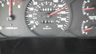 Kia Spectra Shuma acceleration