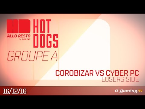 Corobizar vs Cyber PC - HotDogs Groupe A Losers side - League of Legends
