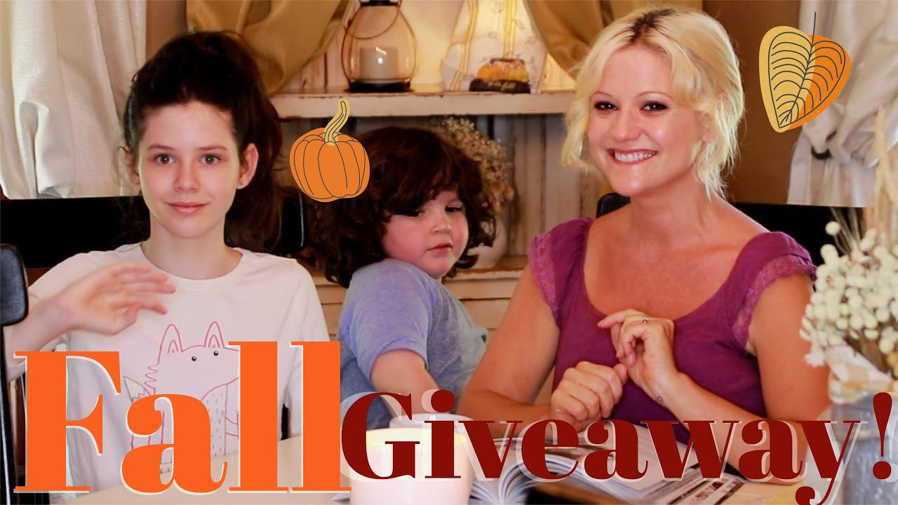 Cozy Autumn Chit Chat & Fall Giveaway 2021! Fun Bloopers ☕️🍁🍂