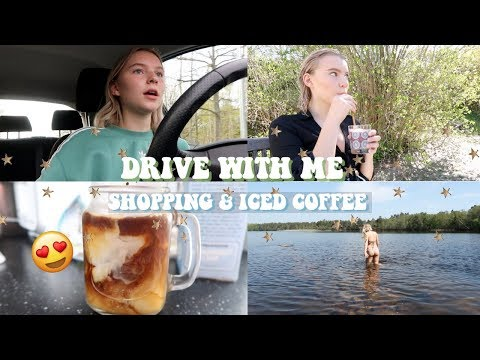 DRIVE WITH ME & LUSH UNBOXING / A VLOG