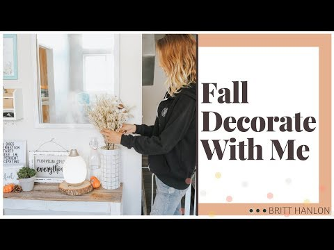 FALL DECOR HAUL & DECORATE WITH ME | New Fall Home Decor 2019